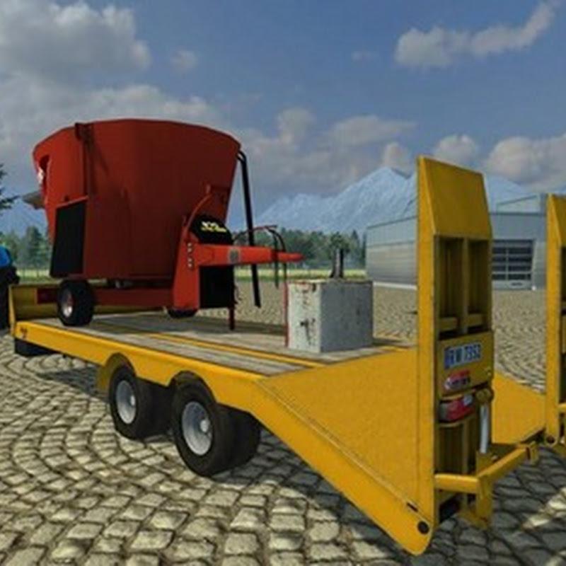 Farming simulator 2013 - Foss Eik Maskintraller v 1.0