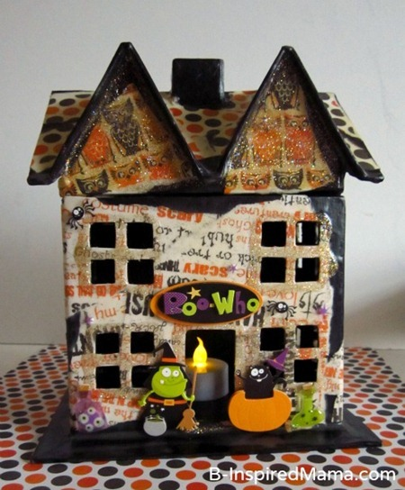 Mod Podge Haunted House 10