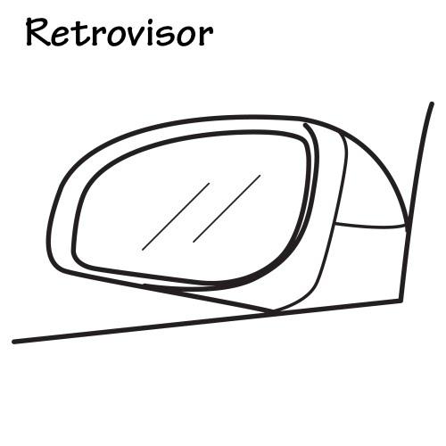 Espejos retrovisores para colorear for Espejo retrovisor ninos