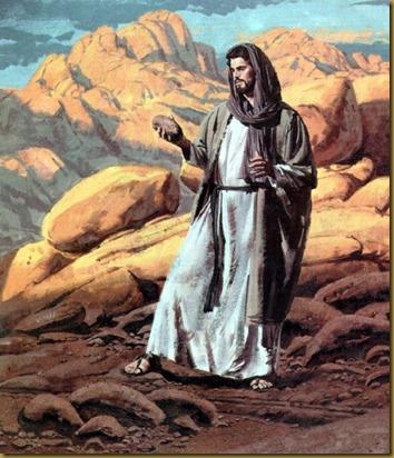 JESUS EN DESIERTO