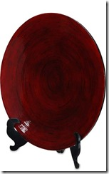 57020_Lansa Platter 24 inch dia x 3 inch deep Mercana price 96 00 top of fireplace for pop of colour