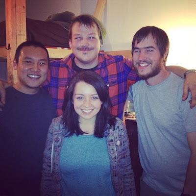 little Shelter reunion in LA!