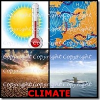 CLIMATE- 4 Pics 1 Word Answers 3 Letters