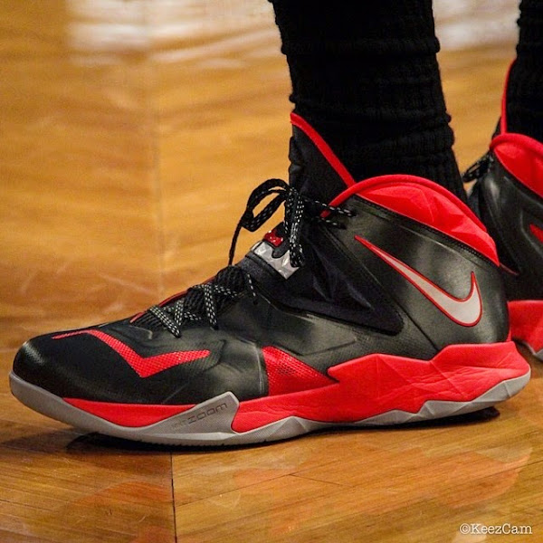 LeBron Ties Playoff Career High 49 Points in New Soldier 7 PE