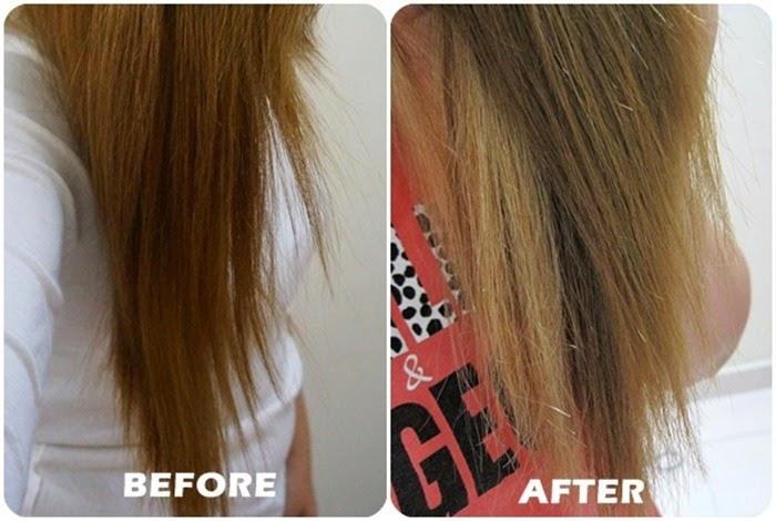 Akin ylang ylang Shampoo result
