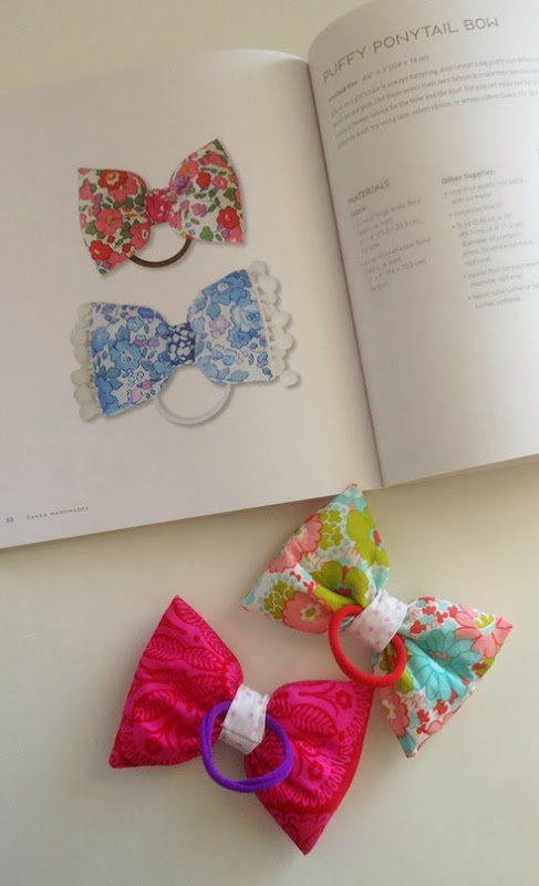 Puffy Ponytail Bows - Zakka Handmades