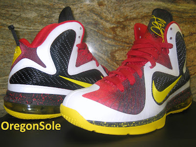 nike lebron 9 ss mvp 1 02 Unreleased Nike LeBron 9 MVP   Black Midsole Sample
