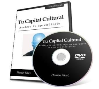 TU CAPITAL CULTURAL, Hernán Vilaró [ Curso ] – Sistema holístico de técnicas y métodos de estudio. Aprendizaje acelerado en cualquier campo o disciplina