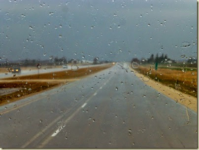 To Webster City in the Rain