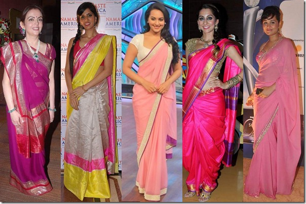 Pink_Bollywood_Saree_Fashion (2)
