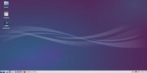 Lubuntu 14.04 - cartelle nella scrivania