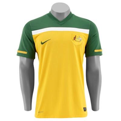 Camisa Oficial da Seleção da Austrália, Preço, Onde Comprar
