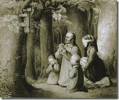 Betende_Bauernfamilie