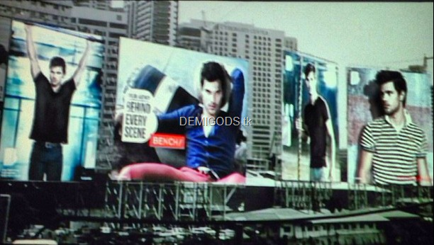 Taylor Lautner Bench billboards