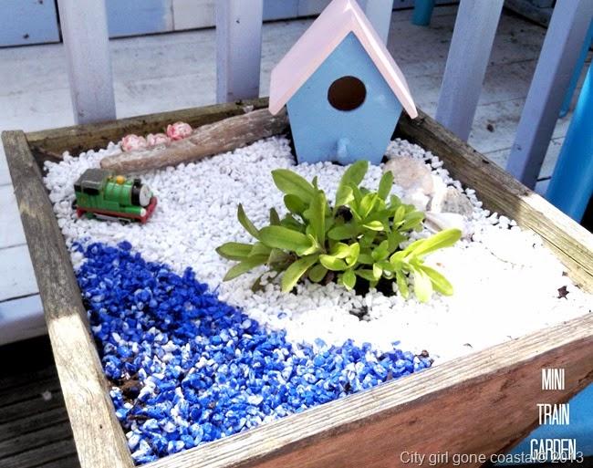 mini train garden