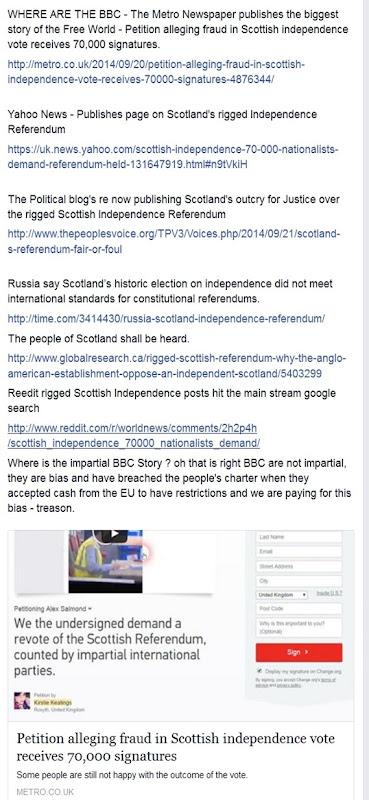 Frauda en Escòcia pel referèndum