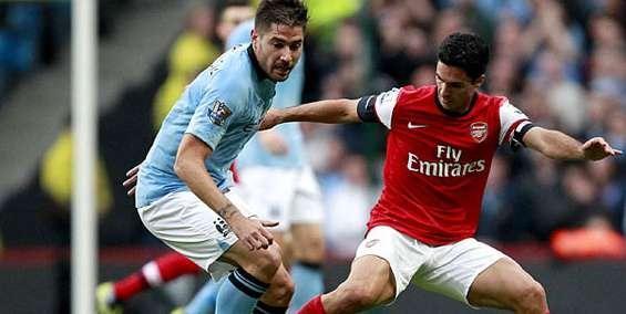 Prediksi Arsenal vs Manchester City Liga Inggris 13 Januari 2013