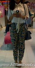 harem pants outfit, bitsandtreats