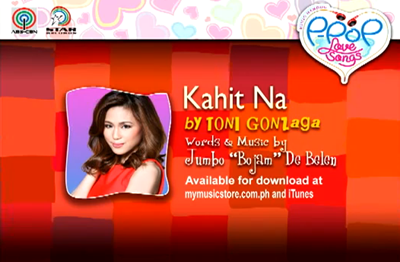 Toni Gonzaga - Kahit Na