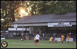 Merthyr Town Stand (v Newport)