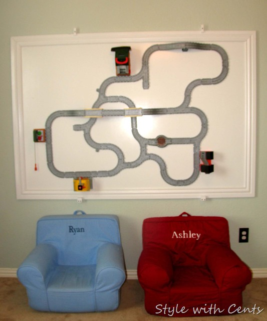 Creating an Inexpensive Playroom from Style with Cents www.stylewithcents.blogspot.com 14