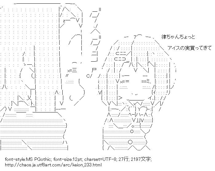 けいおん!,田井中律,平沢唯