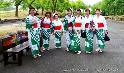 Glória Ishizaka - PL 2014 - Kyosso sai - moças de quimono