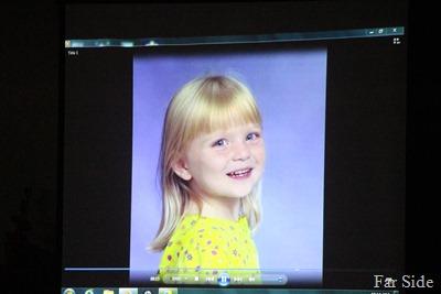 Paige still little