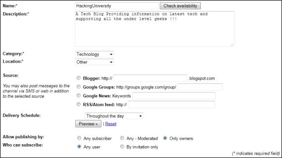 Bulk SMS Service From Google