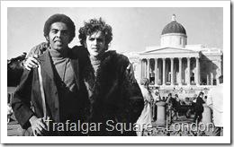 Caetano Veloso e Gilberto Gil - foto The Guardian