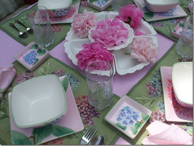 Pretty Floral Lunch 029