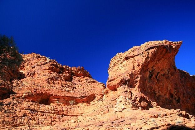 Kings Canyon red Rock formation