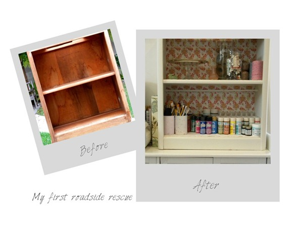 Blog Bookshelf Makeover