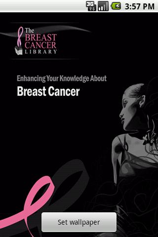 Coverpage - Breast Cancer App for PC