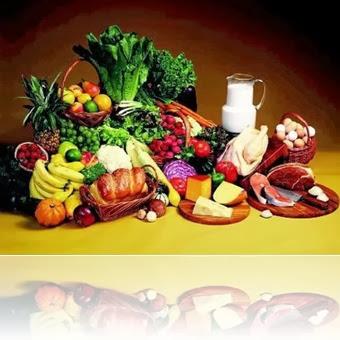 Makan yang sehat hendaknya terdiri dari empat perkara