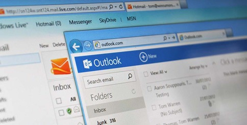 Notificaciones de correo en Outlook