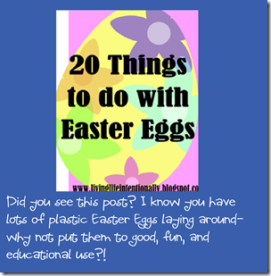 20 Things to do with Easter Eggs