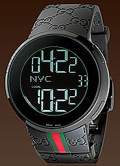 Gucci I-Gucci watch black