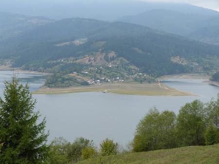 Peisaje Romania: Lacul Bicaz