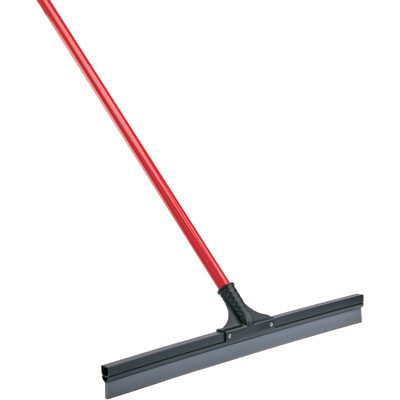 A simple floor squeegee is good for cleaning up spills. (northerntool.com)