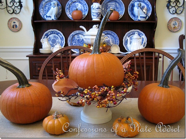 CONFESSIONS OF A PLATE ADDICT Fall Dining Room