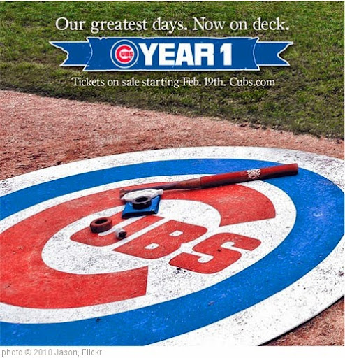 'Chicago Cubs Year One' photo (c) 2010, Jason - license: https://creativecommons.org/licenses/by/2.0/