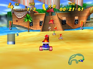 Diddy Kong Racing USA