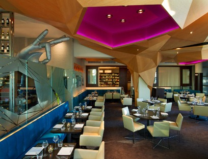 indian restaurant interior design contemporary color washington DC decor
