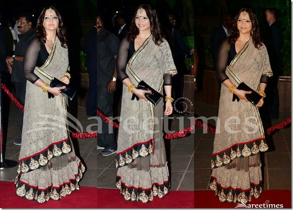 Grey_Embellished_Saree
