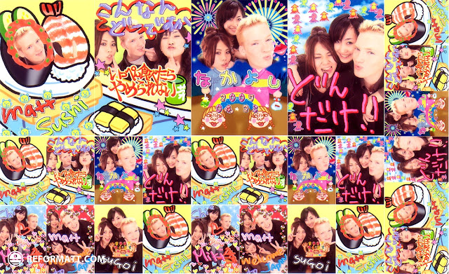 our crazy purikura adventure in Kyoto, Kyoto, Japan