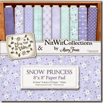 LOTV SNOW PRINCESS PAPER PAD