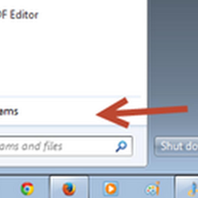 การย้อนเวลากลับใน windows 7 ด้วย System Restore
