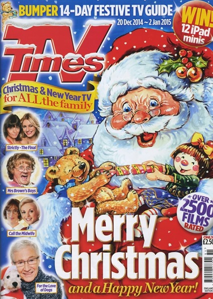 Christmas TV Times 2014