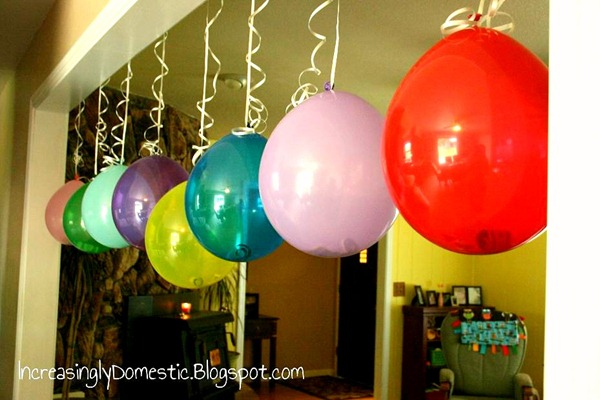 money filled balloons